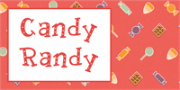 Sample image of Candy Randy font by Lauren Ashpole