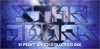 Sample image of Star Doors font by Chequered Ink