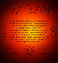 Sample image of Filthy Sunshine font by Uzim