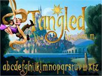 Sample image of Tangled v1.2 font by Esteban4058