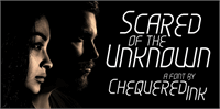 Sample image of Scared of the Unknown font by Chequered Ink