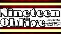 Sample image of NineteenOhFive font by Jake Luedecke Motion & Graphic Design