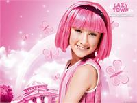 Sample image of LazyTown font by KiddieFonts