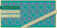 Sample image of Maya Tiles PROMO font by AgaSilva
