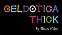 Sample image of GelDoticaThick font by Shara Weber