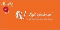 Sample image of Mavblis Demo - Free For Persona font by AgaSilva