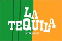 Sample image of La Tequila font by LeoSupply.co