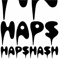 Sample image of Hapshash font by K-Type