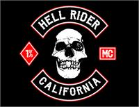 Sample image of Biker from Hell font by GP Typefoundry
