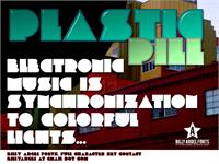 Sample image of PLASTIC PILL font by Billy Argel