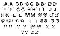 Sample image of Bams Glitch V2 Demo font by GraphicsBam