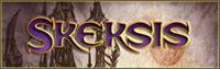 Sample image of Skeksis font by Pixel Sagas