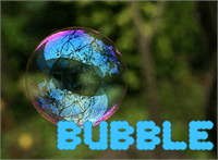Sample image of Bubble font by Nishat Firoj