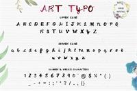 Sample image of ArtTypo_Symufa font by Creativetacos