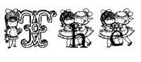 Sample image of KG CUTIE1 font by Katz Fontz