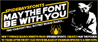Sample image of CROSS STITCH font by SpideRaYsfoNtS