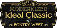 Sample image of FHA Modernized Ideal ClassicNC font by the Fontry