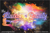 Sample image of The Illusion of Beauty font by Misti's Fonts