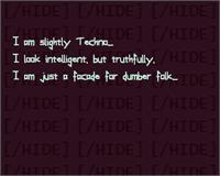 Sample image of Slightly Techno font by Phantomhive Company