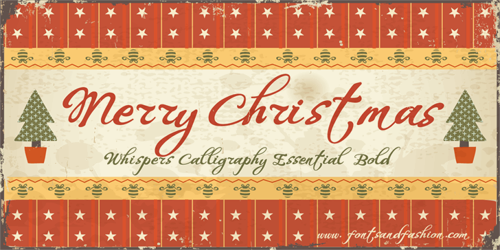 WHISPERS CALIGRAPHY_DEMO_essent font by Fontsandfashion