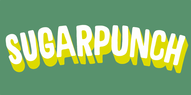 Sugarpunch DEMO font by pizzadude.dk