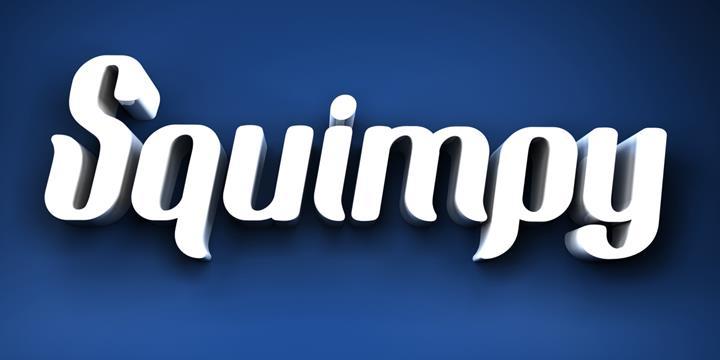 squimpy font by seventhimperium