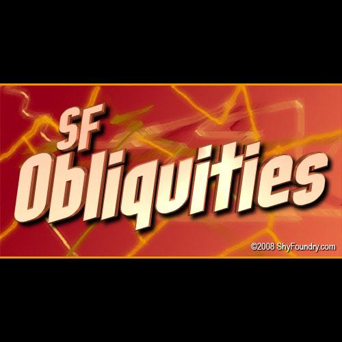 SF Obliquities font by ShyFoundry