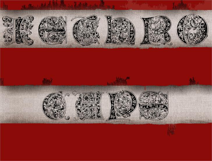 JethroCaps font by Intellecta Design