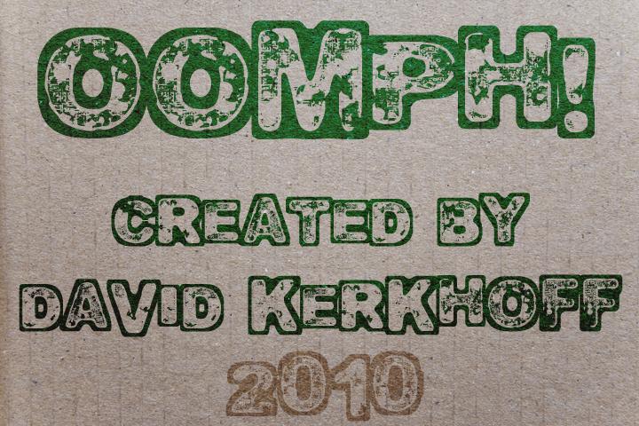 Oomph font by David Kerkhoff