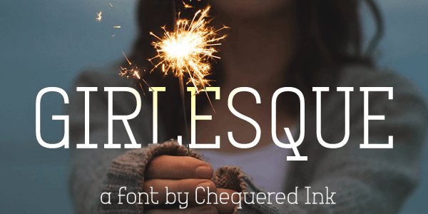 Girlesque font by Chequered Ink