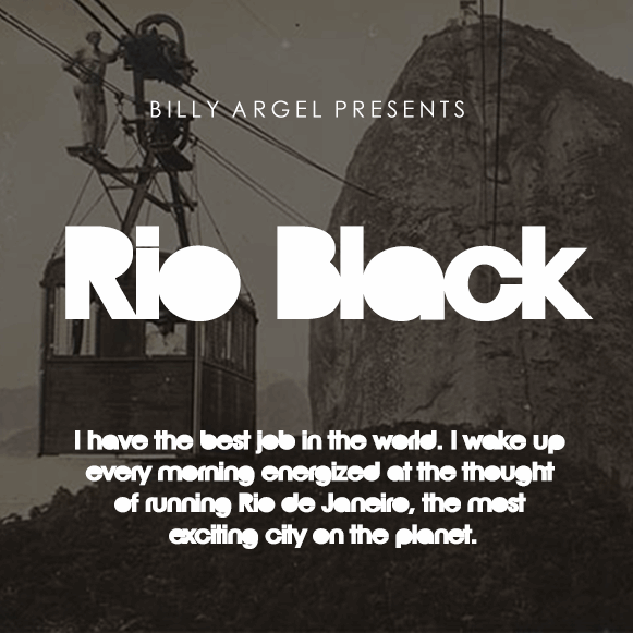 Rio Black Pesonal Use font by Billy Argel