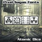 Atomic Dice font by Pixel Sagas