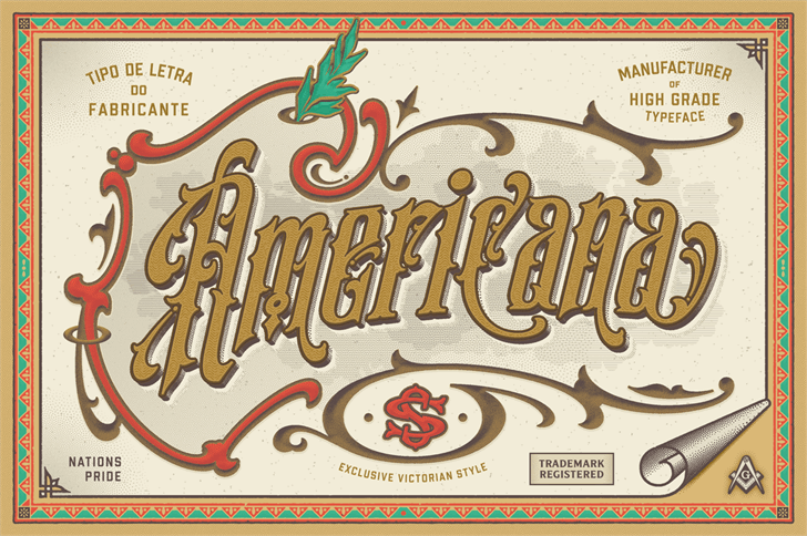 S&S Amberosa Demo font by Spencer & Sons Co.
