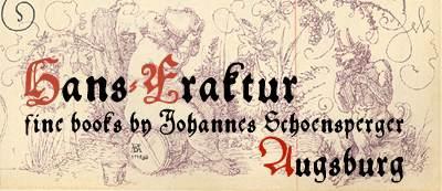 Hans Fraktur font by Manfred Klein