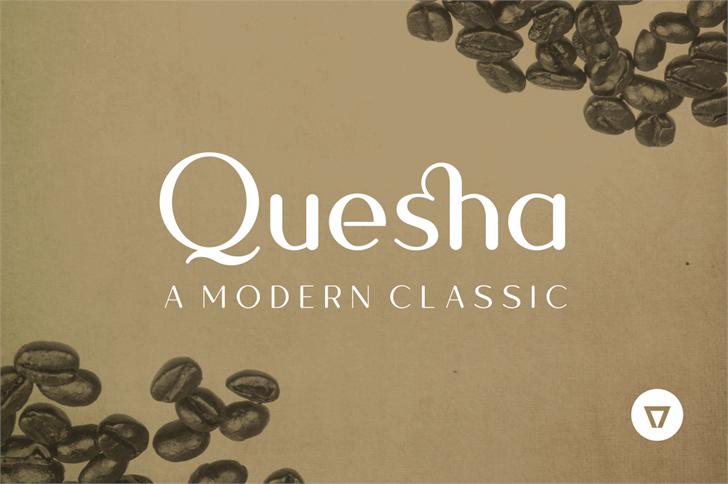 Quesha font by NimaVisual