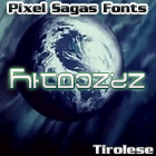 Tirolese font by Pixel Sagas