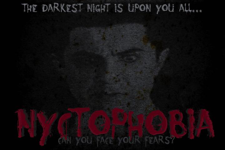 Nyctophobia font by David Kerkhoff