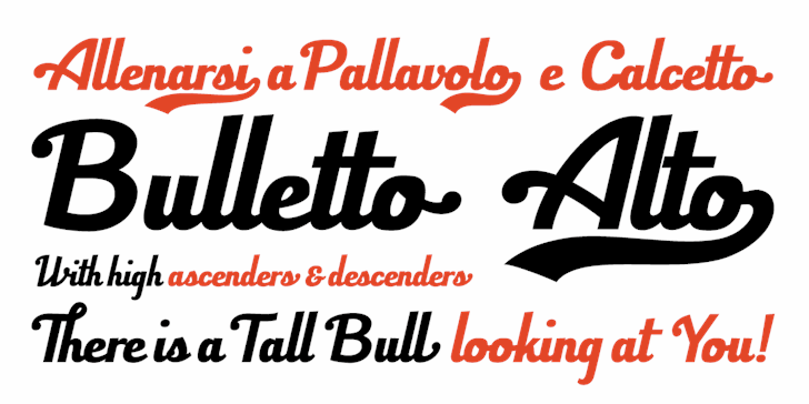 Bulletto Killa¬ font by Zetafonts