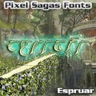 Eladrin font by Pixel Sagas