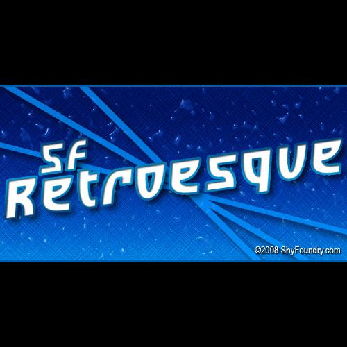 SF Retroesque font by ShyFoundry