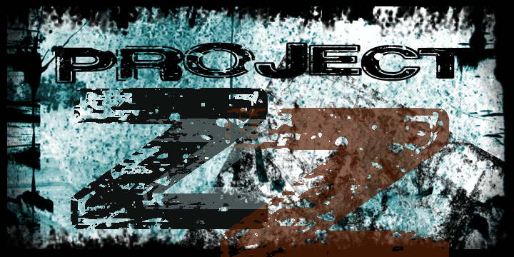 Project Z font by David Kerkhoff