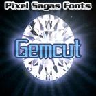 Gemcut font by Pixel Sagas