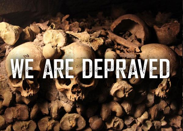 We are Depraved font by Chris Vile