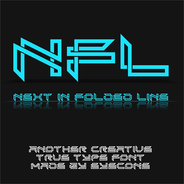 Next In Line font by eyecone