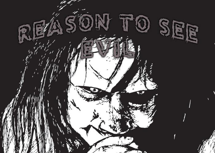 Reason to see Evil font by Chris Vile