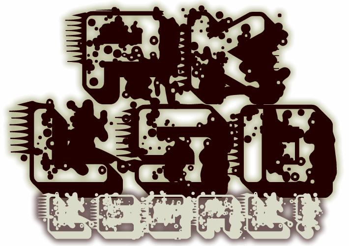 pk LSD font by paintblack éditions