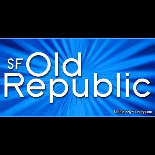 SF Old Republic font by ShyFoundry