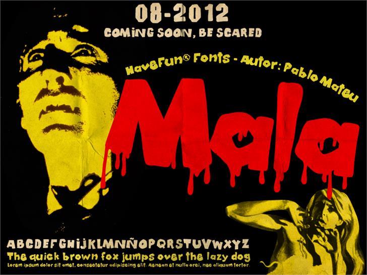 Mala font by HaveFun® Fonts