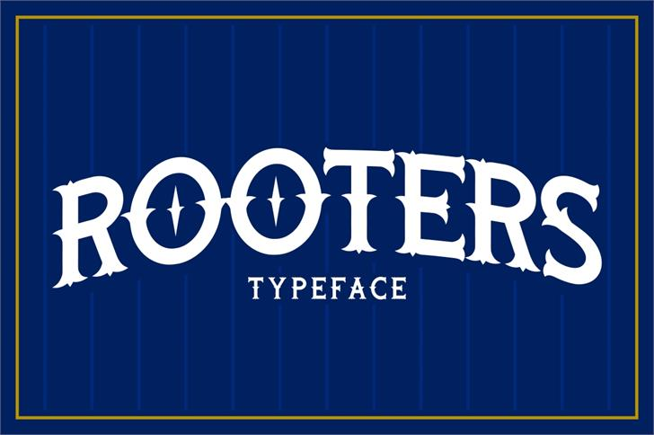 Rooters font by Twicolabs