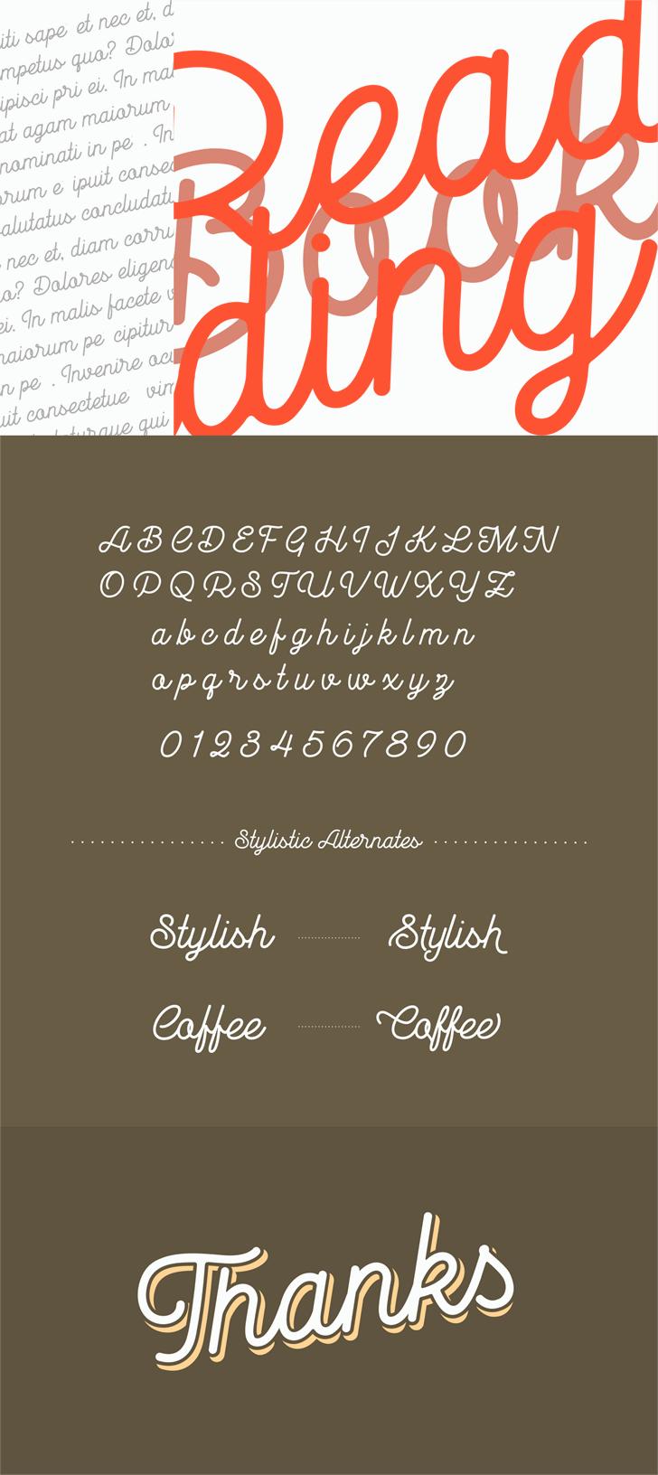 Goldana Base font by seventhimperium